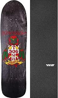 Dogtown Skateboards Born Again Pool Black Stain Skateboard Deck - 8.75