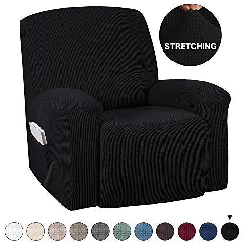 Turquoize Stretch Recliner Cover Recliner Chair Cover Recliner Slipcover 1-Piece Sofa Cover with...