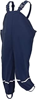 DondPO Unisex Kinder Regenhose Latzhose Matschhose mit Textilfutter Regenlatzhose Winddichte und wasserdichte Atmungsaktiv Schlammhos