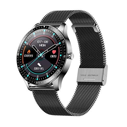 YDZ Monitor De Sueño con Ritmo Cardíaco S80 IP68 Hombres Inteligentes Impermeables Hombres Fitness Fitness Ejercicio 2021 Smartwatch para iOS Android,G