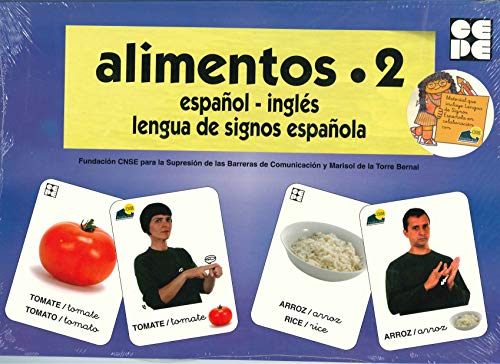 Vocabulario fotográfico elemental - Alimentos 2 (verduras) (Vocabulario fotográfico elemental (español,inglés,lengua de signos española))