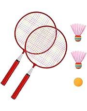 GARNECK Juego de Raqueta para Niños Profesional Ligero 2 en 1 Deportivo Raqueta de Tenis Juguete Interactivo para Niños Adultos Principiantes