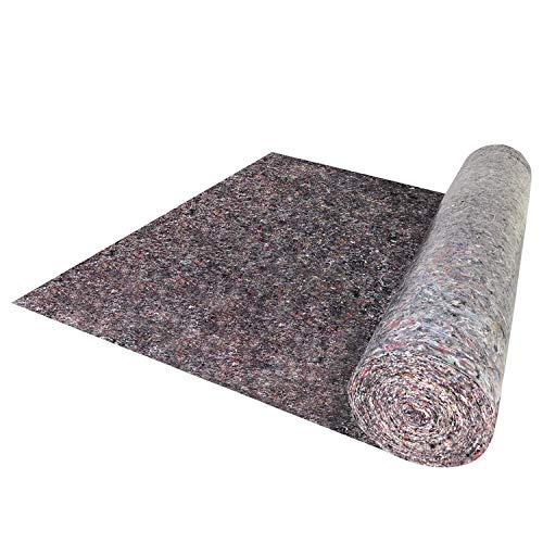 HENGMEI Malervlies Tapete Schutzvlies ca. 1 m x 50 m (50 m²) Abdeckvlies mit PE Anti Rutsch Beschichtung Gewicht: 180 g/m² Oberflächenschutz für Bodenbeläge, Maler und Heimwerker