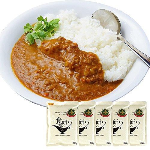 たっぷりの玉ネギと牛肉の旨味が溶け込んだ 濃厚 ビーフ カレー 中辛 200g 5食セット 北国からの贈り物