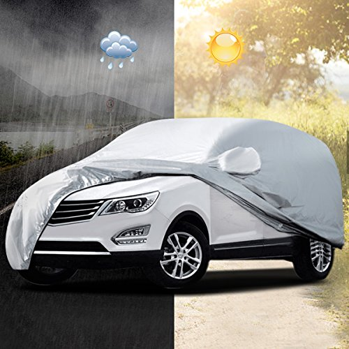 Audew Funda para Coche Cubierta SUV Impermeable Universal 5.2x2x1.8M