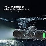 ヘッドライト 充電式 防水 USB充電式 屋外LEDヘッド ランプヘッド ライト懐中電灯 登山 夜釣り アウトドア作業