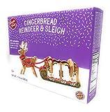 Create-A-Treat E-Z Gingerbread House Kit, Reindeer and Sleigh, 11.6 oz.