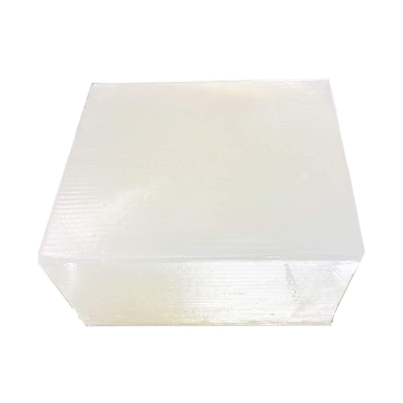 レーザ些細なプロペラグリセリンソープ(MPソープ)11.4kg(11,400g?1塊り)クリア