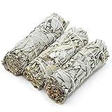 Sage Smudge - Weißer Salbei Smudge Sticks - White Sage Bundles Sage Smudge Sticks für die Reinigung von Heilungsmeditationen 9cm 40g