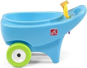 Step2 Springtime Wheelbarrow | Toddler Role Play Garden Toy, Blue (400600)