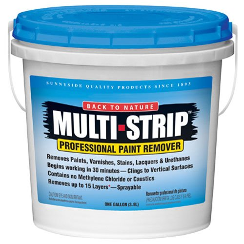 Sunnyside Back to Nature Multi-Strip Professional Paint & Varnish Remover, Gallon, 657G1