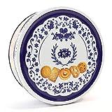 Galletas de mantequilla Danish Butter Cookies / Galletas de mantequilla danesa, en una bonita lata azul, 454 g (1 bote de 454 g)