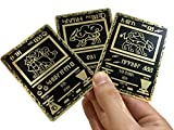 Ancient Suicune, Raikou & Entei Custom Metal Pokemon Cards