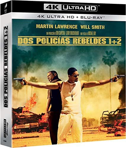 Dos policias rebeldes 1+2 (4K UHD + BD) [Blu-ray]