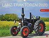 Starke Lanz Traktoren. Wandkalender 2020. Monatskalendarium. Spiralbindung. Format 44 x 34 cm - Heye