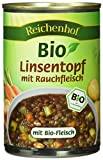 Reichenhof Bio Linsen-Eintopf mit Rauchfleisch, 6er Pack (6 x 400 g)