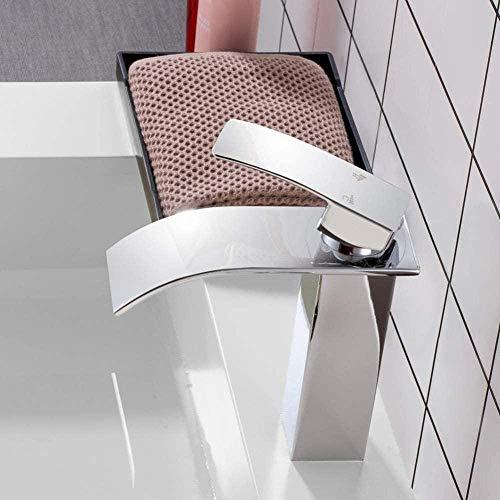 Waterkraan merk gepolijst wastafel waterval waterkraan eengreeps eengreeps gat dek gemonteerd wastafel waterval waterkraan waterkraan