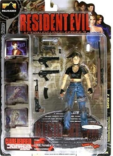 Palisades Resident Evil Action Figures Series 2 Claire rotfield Bloody Version Resident Evil Code Veronica by Resident Evil