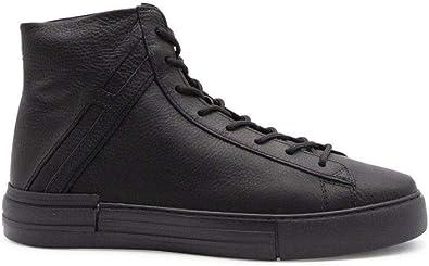 Hogan Luxury Fashion Uomo HXM5260CW12O3RB999 Nero Pelle Hi Top Sneakers | Autunno-Inverno 20