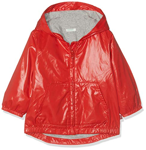 United Colors of Benetton Jacket Abrigo, Rojo (Rossol 005), Talla única (Talla...