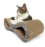 猫段ボール紙スクラッチャー猫スクラッチおもちゃペット段ボール紙ベッドラウンジソファ子猫爪用スクラッチボード