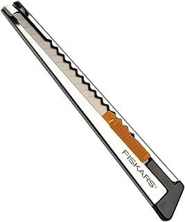 Fiskars Nóż profesjonalny, Płaski, 9 mm, Pomarańcz / metal, 1004619