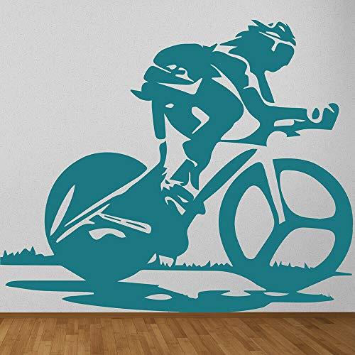 Geiqianjiumai Fiets racing fiets muur sticker kinderen kamer kinderkamer slaapkamer training