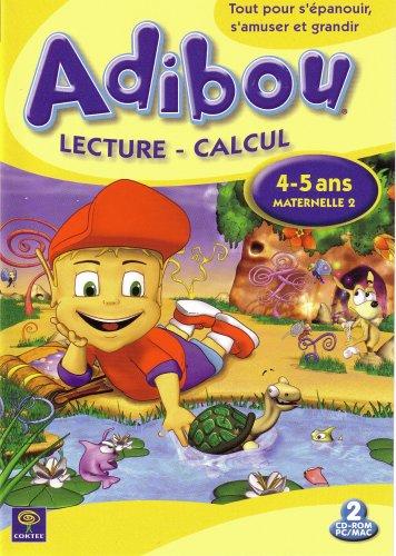 Preisvergleich Produktbild Adibou : Lecture - Calcul,  4-5 ans / Maternelle 2