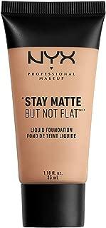 NYX PROFESSIONAL MAKEUP Stay Matte but not Flat Liquid Foundation, Soft Beige, 1.18 Fl Oz