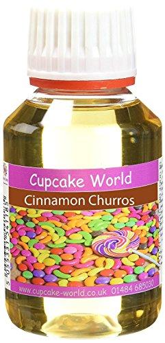 Cupcake World Aromas Alimentarios, Sabor Canela Churros