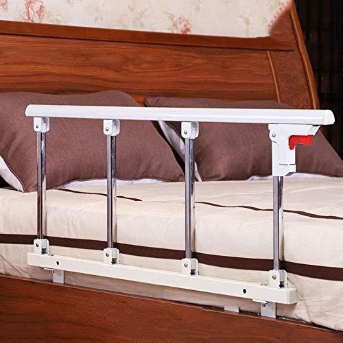 JT - Barrière de lit pliable pour bébé - Anti-chute - Universelle - Pour personnes âgées, Métal, C, 95x40cm