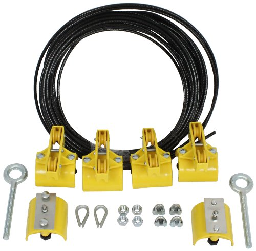KH Industries FTSW-RL-KIT40 Festoon Stretch Wire Kit with 40' Length for Large Round Cable Systems