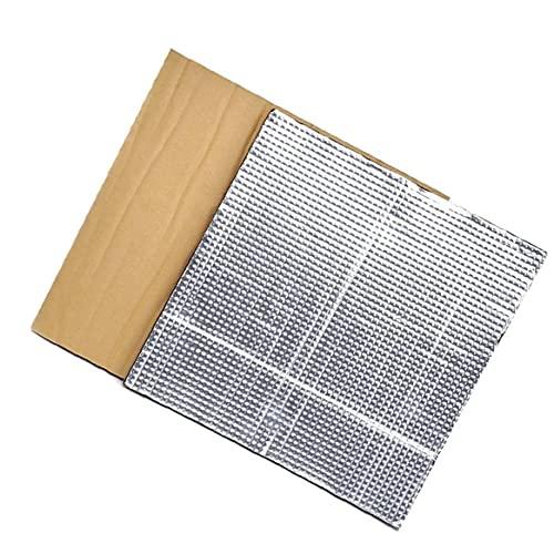 Plataforma Caliente Cama de Aislamiento semillero de la Impresora térmica Pad de Aislamiento Estera de la Espuma 3D con calefacción Cama Aislamiento Térmico algodón 2 Piezas de Plata