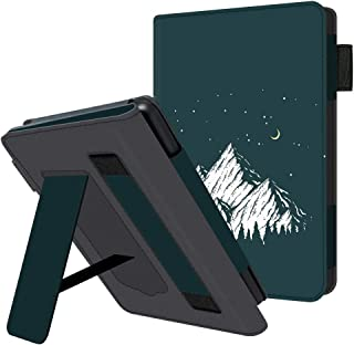 HUASIRU Etui na telefon komórkowy do wszystkich generacji Kindle Paperwhite - pokrowiec ochronny ze skóry PU z paskiem na ...