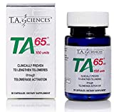 T.A. Sciences | TA-65 Telomerase Activation | Anti-Aging & Immunity Boost with Cell Rejuvenation | 30 Capsules