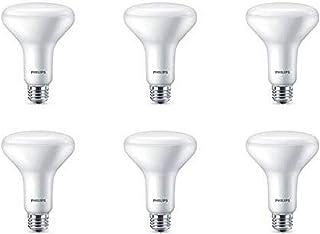 Philips LED Dimmable BR30 Light Bulb: 650-Lumen, 5000-Kelvin, 7.2 Watt, E26 Base, Daylight, 6-Pack
