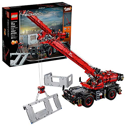 LEGO Technic Rough Terrain Crane 42082 Building Kit.