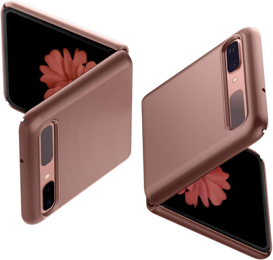Spigen Thin Fit Designed for Samsung Galaxy Z Flip/Designed for Galaxy Z Flip 5G Case (2020) - Bronze