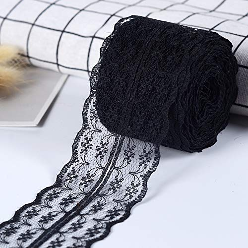 puntas de banda punta Ribete elástico encajes tela cenefa decorativa,
