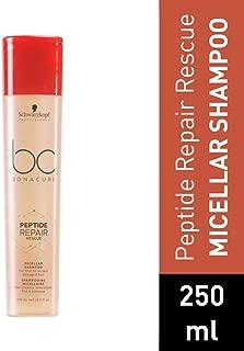 Schwarzkopf Professional Bc Peptide Repair Rescue Micellar Shampoo, Red, 250 ml