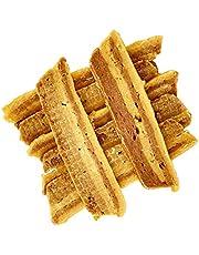 AVANZONA Snack per Cani, Spuntino di Pollo e Anatra, nutrizionali e da Masticare per Cani di Piccola, Media e Grande Taglia. 100 G.