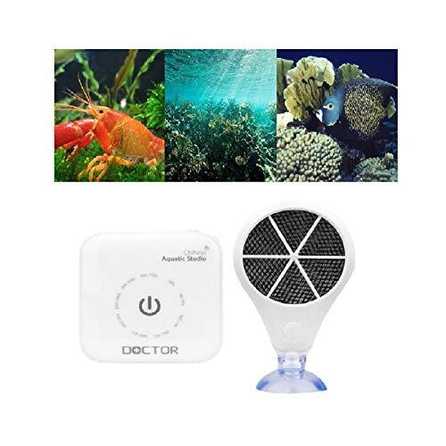 PIKAJIU Aqua Algae Sterilizing Oxygenator for Aquarium Algae Removal Strong Sterilization Algae Prevention (A)