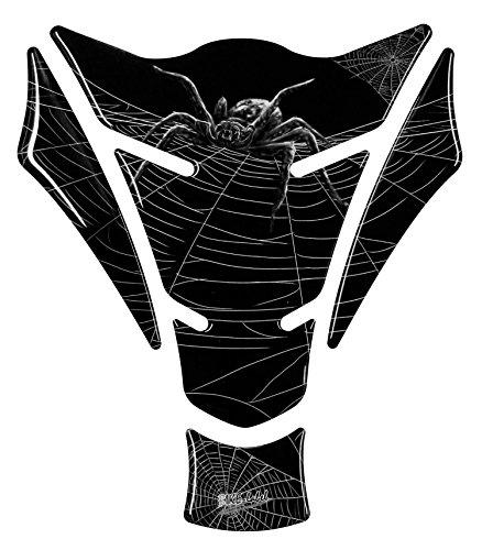 Protector de depósito 3D – 501424 Spider Predator / Araña – universal para depósitos Yamaha, Honda, Ducati, Suzuki, Kawasaki, KTM, BMW, Triumph y Aprilia