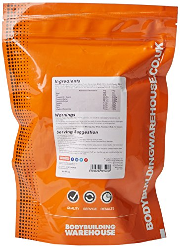 Bodybuilding Warehouse Premium Protein Pancakes Powder Raspberry Ripple 500 g
