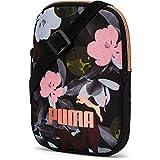 PUMA WMN Core Seasonal Flat Portable Bandolera, Mujeres, Black-Floral AOP, OSFA
