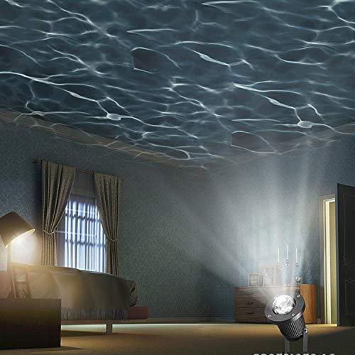 LOVEPET LED-Wasser-Kräuselungs-Projektor-Lichteffekt-Licht-Rasen-Licht-Stadiums-Licht LED Wasser-Licht Im Freien, Garten-Garten-Dekoration