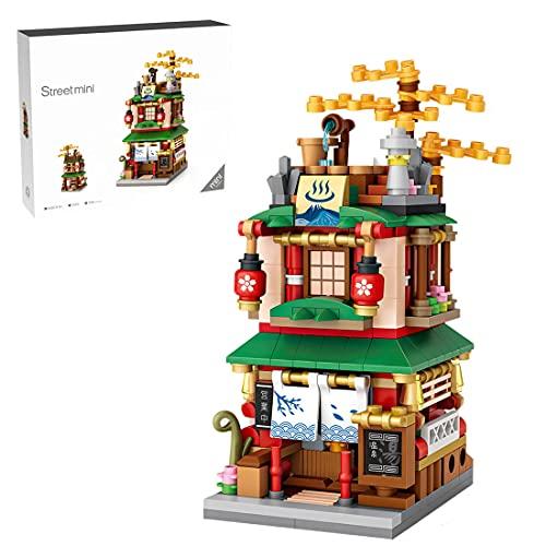 YIGE Modelo de bloques de construcción de construcción de 399 piezas, edificio modular, Street View compatible con Lego