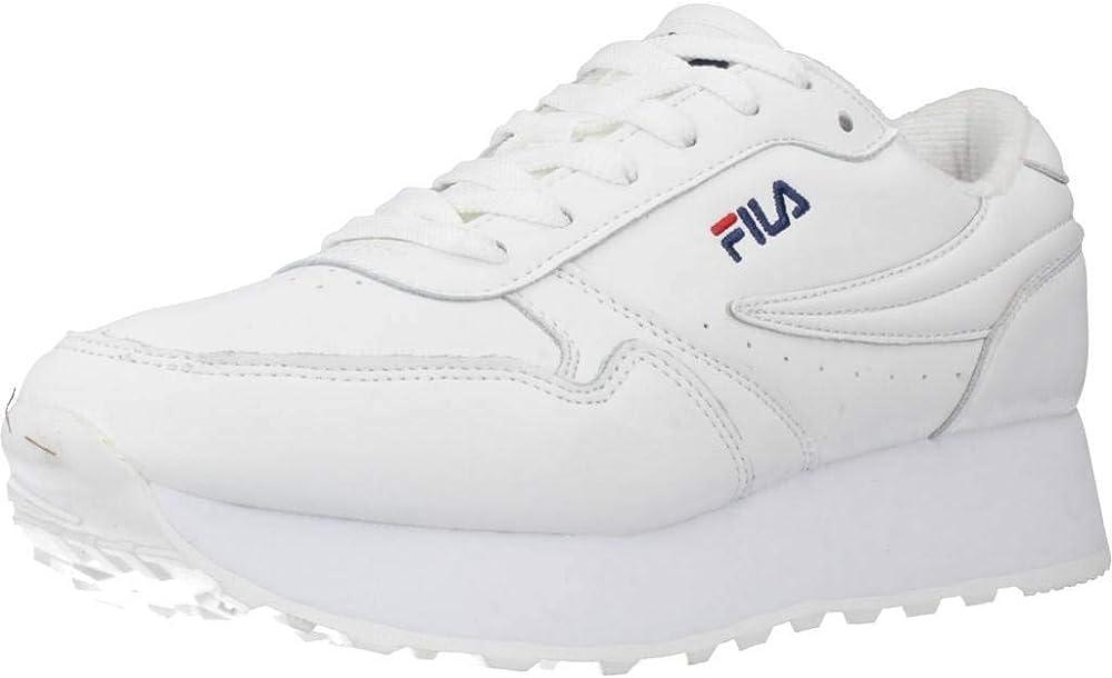 Fila orbit scarpe da ginnastica sneakers per donna in pelle 1010311-1FG