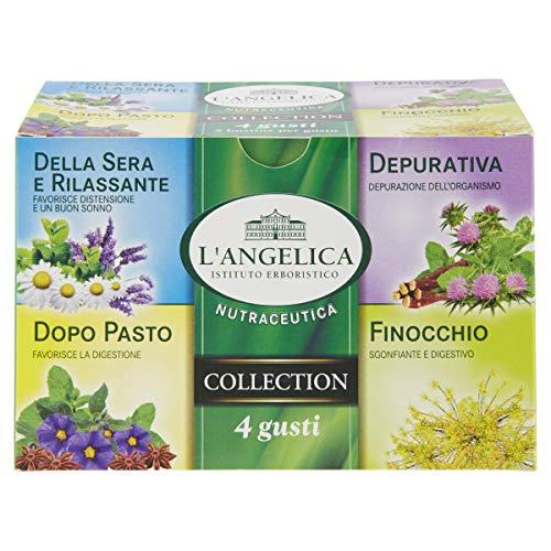 L'Angelica, Misto Tisane 4 Gusti, Tisana Della Sera, Tisana Depurativa, Tisana Dopo Pasto, Tisana...