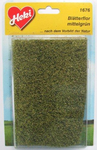 Heki 1676 Blatt-Flor, Größe: 28 x 14 cm, Farbe: mittelgrün
